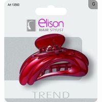 Pinza para el pelo grande negra Trend ELISON, 1u