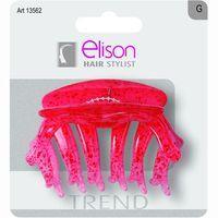 Pinza grande color trend para el pelo ELISON, pack 1 ud.