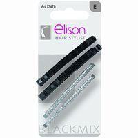 2+2 Clip grande Tantasy Black ELISON, pack 1 unid.