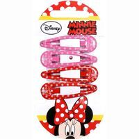 4 Clips MINNI MOUSE, pack 1 unid.