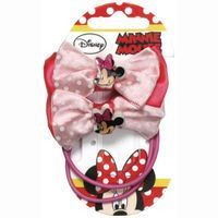 Coletero lazo MINNIE MOUSE, pack 1 unid.