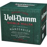 Cerveza WOLL DAMM, pack 12x25 cl