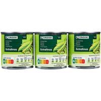 Guisante extrafino EROSKI, pack 3x140 g