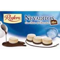 Nevaditos con baño de chocolate mini REGLERO, caja 220 g