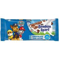 Chocolate bombón sport LACASA, tableta 125 g