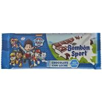 Chocolate bombón sport LACASA, tableta 125 g