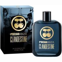 Colonia para hombre Clandestine PACHA, vaporizador 50 ml