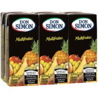 Néctar multifruta DON SIMON, pack 6x20 cl