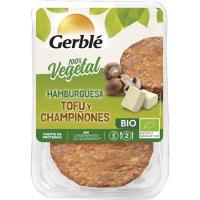 Hamburguesa de tofu-champiñón GERBLÉ BIO, pack 2x80 g