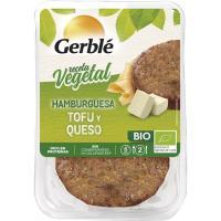 Hamburguesa de tofu-queso GERBLÉ Bio, pack 2x80 g