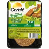 Seitán rebozado en filetes GERBLÉ BIO, bandeja 180 g