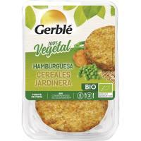 Hamburguesa de cereales jardinera GERBLÉ BIO, bandeja 160 g