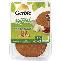 Hamburguesa de tofu a la vasca GERBLE BIO, pack 2x80 g