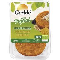 Hamburguesa de cereales orientales GERBLÉ BIO, bandeja 160 g