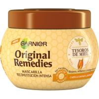 Mascarilla tesoros de miel ORIGINAL REMEDIOS, tarro 300 ml