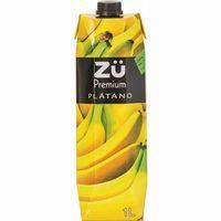 Néctar de plátano ZÜ , brik 1 litro