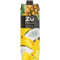 Bebida de piña-coco ZÜ , brik 1 litro