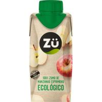 Zumo de manzana ecológica ZÜ PREMIUM, brik 33 cl