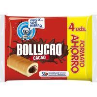 Bollo de cacao BOLLYCAO, 4 uds, paquete 240 g