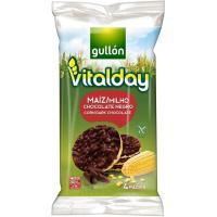 Tortitas de maíz-choco GULLON Vitalday, paquete 100 g