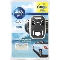 Ambientador coche aroma agua AMBIPUR, aparato + recambio