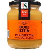 Miel natural mil flores Eusko Label GURE EZTIA, frasco 500 g