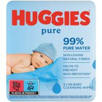 Toallitas Pure HUGGIES, paquete 2+1 ud.
