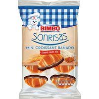 Mini croissant bañado BIMBO Sonrisas, paquete 150 g