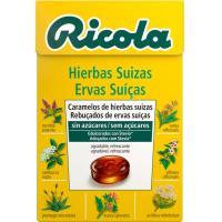 Caramelos sin azúcar a las hierbas RICOLA, caja 50 unid.