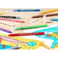 Rotuladores de colores surtidos  Kids Kid Couleur BIC, Caja 10+2 uds