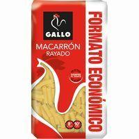 Macarrón rayado GALLO, paquete 1 kg