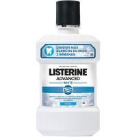 Enjuague bucal blanqueador avanzado LISTERINE, botella 1 litro