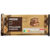 Turrón de chocolate crujiente EROKI, tableta 300 g