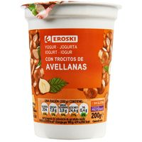 Yogur con avellanas
