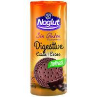 Galleta Digestive con cacao sin glúten NOGLUT, paquete 200 g