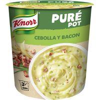 Puré de patata-bacón KNORR, vaso 59 g