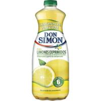 Refresco sin gas sabor limón DON SIMÓN, botella 1,5 litros
