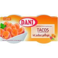 Tacos del potón del pacífico en salsa gallega DANI, pack 2x78 g