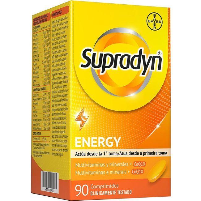 Complemento alimenticio activo SUPRADYN, caja 90 cápsulas