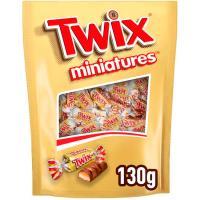 Chocolatina mini TWIX, bolsa 130 g