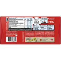 Chocolate con avellanas NESTLÉ, tableta 123 g