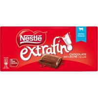Chocolate con leche NESTLÉ, tableta 125 g