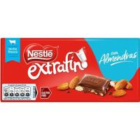 Chocolate con almendras NESTLÉ, tableta 123 g