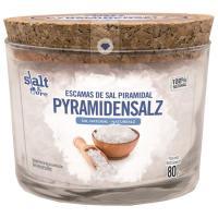 Escamas de sal piramidal natural SALT&MORE, caja 80 g