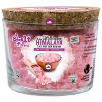 Sal rosa del Himalaya SALT&MORE, frasco 180 g