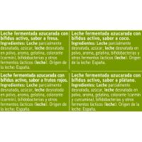 Yogur Biactive sabores EROSKI, pack 8x125 g