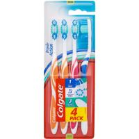 Cepillo manual Triple Action COLGATE, pack 4 uds.