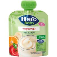Bolsita de yogurines natural HERO, doypack 80 g