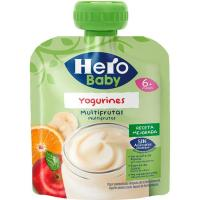 Bolsita de yogurines multifrutas HERO, doypack 80 g