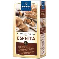 Harina integral de espelta HARIMSA, caja 500 g